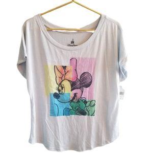 || DISNEY PARKS || XL Minnie Mouse Top